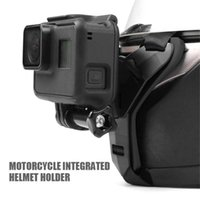Motorcycle Helmets Black Suitable For Helmet Holder Chin Stand Mount Action Sports Camera Moto Accessory