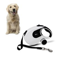Retractable Pet Dog Traction Rope Puppies Automatic Nylon Supplies Garbage Bag Ro Collars & Leashes