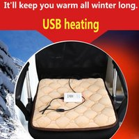 Seat Cushions Car Heating Cushion Plug USB Power Supply Office And Home Dlanket Can Charge Treasure To Heat Winter Supplies