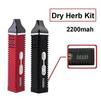 Titan 2 Vaporisateur Kit 2200mAh Herbe sèche OLED Display Vapeur Tempérez la température Portable Pathfinder Pathfinder Stylo