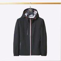 2021TOP дизайнерский мужской куртка роскошная случайная солнцезащитная светная ветровка высокого качества открытая одежда M-2XL