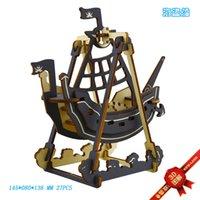 Лазерный трехмерный трехмерной иллюстрации деревянные сборки DIY игрушки для детей головоломки модель пиратский корабль bfeu730