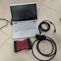 Para ford vcm2 vcmii com software DIS V101 para F-Ord instalado no laptop usado CF-AX2 I5 8G pronto para uso