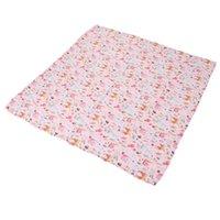 Blankets & Swaddling Baby Swaddle Blanket Cute Animals Plants Pattern Born Bath Towel For Carriage Breastfeeding