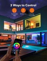 Luzes de tira LED Taotrônica, as luzes de fita trabalha com Alexa