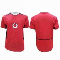 2002 2003 MU Soccer Home Away Jersey Custom Design Retro Football T Shirt