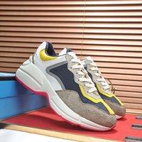 Top Quality Calçados Casuais Homens Mulheres Sneakers Marca de Couro Real Designer de Luxo Chaussures Confortável Casuals Moda Branco Itália Ace Bee Sapato
