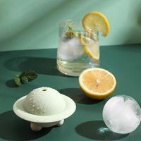 Kullanımlık Soğutucular Silikon Dev Buz Topu Makinesi Buzlu Küp Kalıpları Viski Kokteyl Premium Yuvarlak Topları Küreler Mutfak Bar Aracı