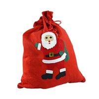 ギフトラップ50x70cm不織布巾着バッグクリスマステーマ袋キャンディージュエリーの靴