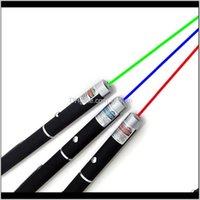 Pointeurs 15cm Grand Puissant Vert Vert Violet Pointeur rouge Pointer Stylet Lumière de poutre lumières 5MW Professionnel High Power Laser 532nm 650nm WHQZB