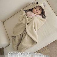 Baby Swaddddle Couverture Sac de couchage Swadding Couvertures Couvertures Toddler Sac