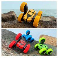4WD RC Car 360 Degree Flip Double Sided Drift Car Rock Crawler Robot 2.4G Radio Control Remote Control Car Toys For Children Q0726