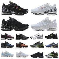 Nike Air Max Plus 3 TN Plus 3 III الاحذية TN 3 chaussures الثلاثي الأبيض الأسود hyper الأزرق الأخضر og usa neon رجل المدربين الرياضة أحذية رياضية