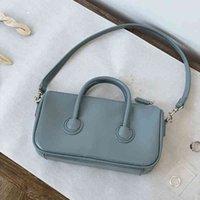 Effects Color Pu Leather Ladies Small Square Crossbody Cups Finger Design Women Single Shoulder Underarm Bag Women's Handbags