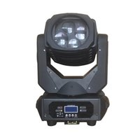 Effekte LED Moving Head Light 4 STÜCKE Lampenperlen 25w White Super Beam für Bar Stage Effekt Beleuchtung DJ DMX-Blitz-Waschgeräte
