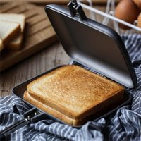 Pans Double-Sided Stove Nonstick Frying Pan Sandwich Pancake Maker Double Omeleteira Cookware Home Cooking Kitchen Supplies Drip Ship