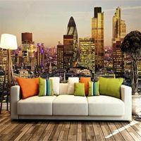 Wallpapers European City Architecture London Landscape Living Room Home Industrial Decor Wallpaper Bedroom Mural Papel De Parede