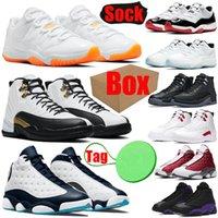 Mens Basketbal Schoenen 11s 12s 13s Bright Citrus Utility Twist Obsidian Court Purple Legend Blue Men Dames Trainers Sport Sneakers