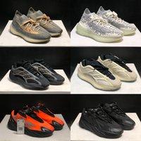 700 Sun V2 V3 Koşu Ayakkabıları Erkekler Kadınlar 3 M Yansıtıcı Kil Kahverengi Mnvn Kemik Boost 380 Alien Güneş Hosblu Spor Sneakers ile Kutusu