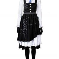 Danganronpa V3 Killing Harmony Kirumi Tojo Cosplay Costume Maid Dress Ball Gowns