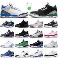nike air jordan retro 3 3s Zapatillas de baloncesto para hombre Zapatillas deportivas para hombre Zapatillas de deporte