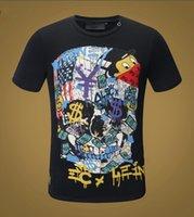 Yaz Erkek Tasarımcı T Gömlek Casual Adam Bayan Gevşek Tees Mektuplar Baskı Kısa Kollu Üst Satmak Marka Hip Hop Tshirt # P6758