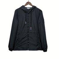 Designer mens jaqueta primavera casaco outono windrunner moda jaquetas com capuz esportes windbreaker casual casacos homem outerwear roupas