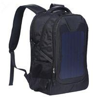 Zaino originale impermeabile 5V batteria solare caricabatterie business zaini da viaggio borse borse turismo pannello USB output caricabatterie borsa per computer