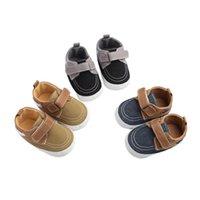 أول مشوا الرضع طفل رضيع طفل حذاء قماش ووكر لطيف الأزياء نجمة نمط حذاء رياضة لينة وحيد سرير فتاة 0-18 متر