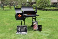 2021 barbecue cuisson en plein air Manger barbecue Home American Style Smoky Grill Courtyard Barbecues Barbecues Four Épaississement