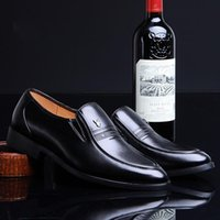 shoes new men's british footwear leather 2021 business suit wedding soft generation Pfkpe
