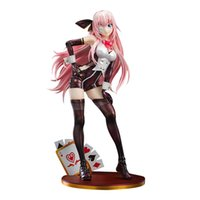 Anime Vocaloid Luka Tentação Playing Cartões Sexy Girl Action Figura PVC Figura Figura Brinquedo 26cm Jogos Estátua Coleção Brinquedo Presente X0503