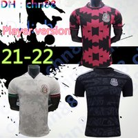 Jogador Versão 2020 México Futebol Jersey Nacional Novo Away Branco 19 20 Preto Chicharito Lozano Guardado Carlos Vela Raul Futebol Camisas