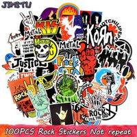 100 pz adesivi rock music banda retrò band graffiti jdm adesivo per la chitarra fai da te moto laptop portapacchi skateboard auto snowboard