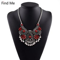 Find Me 2021 Boho Flower Long Tassel Necklace & Pendants Resin Ethnic Sweater Chain Vintage Maxi Women Fashion Jewelry Pendant Necklaces