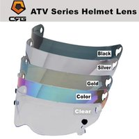 Motorcycle Helmets Visor Anti-scratch Wind Shield Helmet Full Face Fit For CRG ATV 1-8 Series Glasses 5 Colors Choose