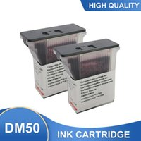 Ink Cartridges 2PCS Compatible Postage Inkjet Cartridge Pitney Bowes 797, 797-0, 797-Q, 797-M For DM50, DM55, K700, K7M0, Fluorescent Red