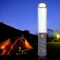 Portable Lanterns LED Work Light Built-in Battery Searchlight Camping Lamp Repair Hand Hold Backpack Lighting Spotlight