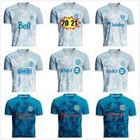 MLS 2021 x Parley PrinBlue Kit Soccer Jersey Toronto Orlando Philadelphia Birliği NYCFC City Austin Columbus Vancouver WhiteCaps D.C. Birleşik Montréal Futbol Gömlekleri