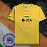 جمهورية الهند تي شيرت رجل تي شيرت القطن القطن الأمة القطن اجتماع المشجعين الشارع الشهير اللياقة البدنية البلد ind الهندي العلم X0621
