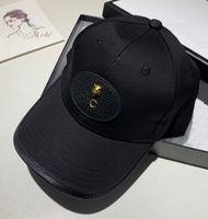 Luxurys Bucket chapéu Homens Designers Cap Tendência Casquette Casquette High-End Couro impressão letra Baseball Cap Four Seasons