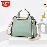 [in stock]2021 new trend lady bag handbag shoulder simple PU female #7t89