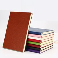 Caderno de couro PU colorido, conjunto de jornal de viagens A5, escrevendo diário diário de notas de notebooks para viajante, estudantes e escritório, papel alinhado, 196 páginas