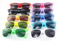 Free DHL INS 13 Colors Children Sunglasses Kids Beach Supplies UV Protective Eyewear Girls Boys Sunshades Glasses Fashion Accessories