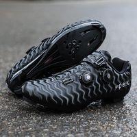 الطريق أسفل دراجة أحذية الرجال والنساء الدراجات أحذية رياضية الدراجة الجبلية الدواسات زائد نظارات تنفس الذاتي قفل في الهواء الطلق سباق الأحذية