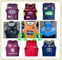 20-21 Austrália Melbourne Storm Maroons Rugby Jerseys Brisbane Broncos South Wales Blues Estado Fiji Knightydney Roosters Nrl League Jersey Colete