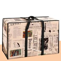 2021 The large capacity woven bag shopping mobile storage travel nylon fabric Big brand design with modelling