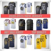 Männer 2021 Jersey11 Klay Thompson30 Stephen Curryjersey Basketball Jersey