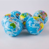 Stress Relief Fidget Toys World Map Foam Ball Atlas Globe Palm Balls Planet For Adult Kids Novelty Funny Gadgets Decompression Toy