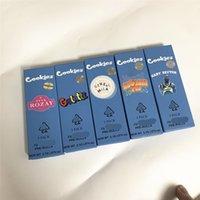 Novos Cokies Preroll Articulações Pacote 3 Pack Crianças Caixa Resistente Rolling Paper Embalagem 1.7 * 4.9in